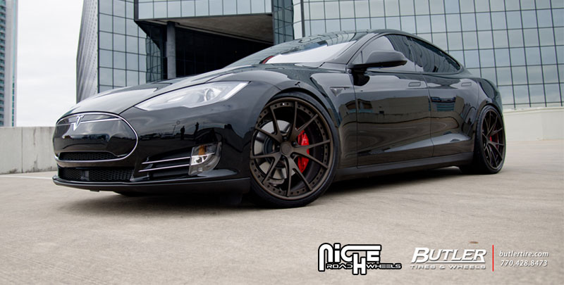 Tesla Model S Stuttgart