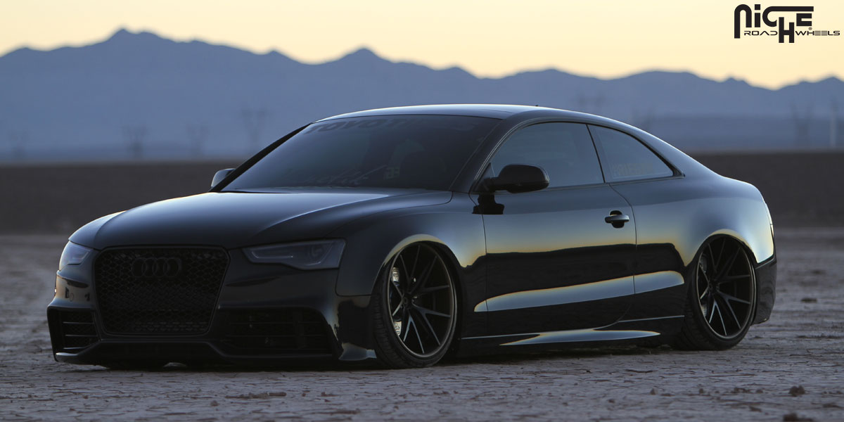 Audi S5 Misano Gallery Niche Wheels