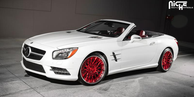Mercedes-Benz SL550 Citrine