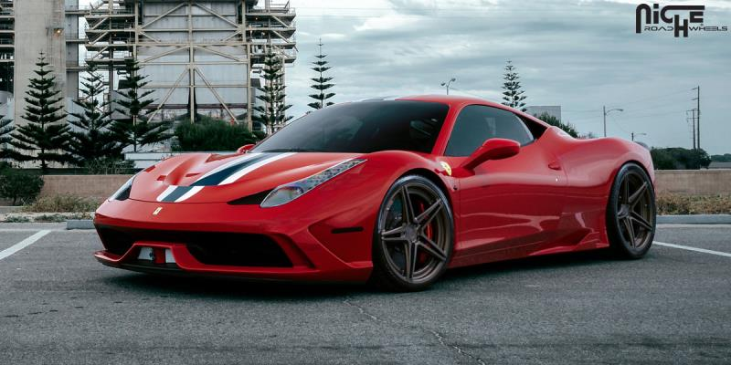 Ferrari 458 Speciale Roma
