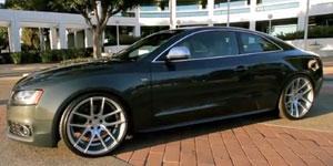 Audi S5 on Niche Targas