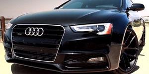 Audi S5 S-line coupe on 20x10.5 Niche Targa's