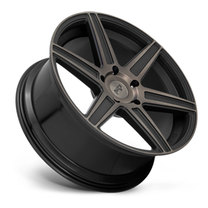Carina - M236 22X9.5 | Gloss Black & Machined w/ Dark Tint