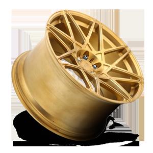 Alpine-D Brushed Transparent Matte Gold