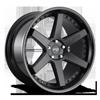 Altair - M192 in Satin Black/Gloss Black