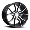 Ascari - M166 in Gloss Black & Brushed 19x9.5
