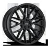Gamma - M224 in 22x10.5 | Glossy Black
