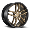 Methos - M195 in 20x10 | Bronze w/ Gloss Black Lip
