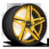 Mulsane in Ferrari Yellow w/ Gloss Black