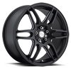 NR6 - M106 in Stone Black & Milled Spoke