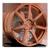 Scuderia 7 in Brushed Face | Hi Luster Polished Windows | Transparent Copper 1